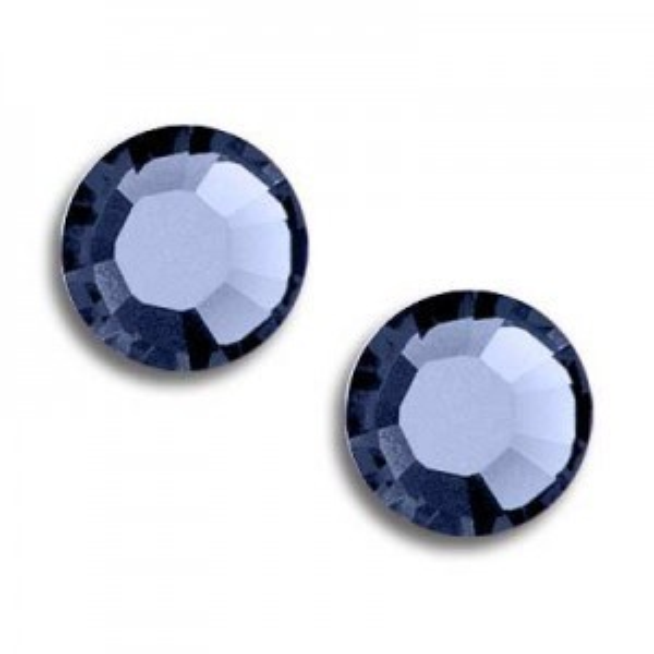 10ss Xilion Flatback Sapphire Foiled Art. 2058 Swarovski® Austrian Crystal Stones