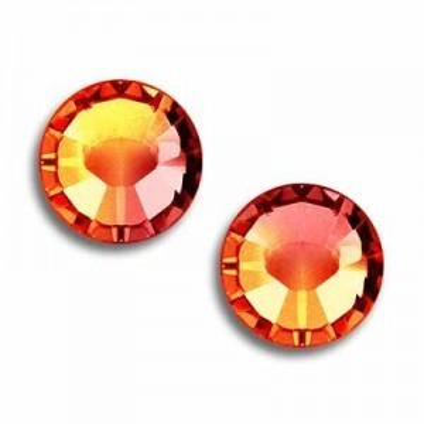 6ss Xilion Flatback Sun Foiled Art. 2058 Swarovski® Austrian Crystal Stones