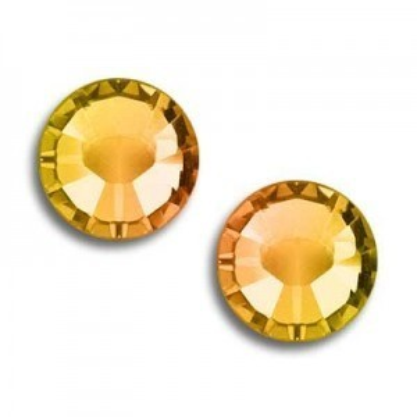 7ss Xilion Flatback Crystal Tabac Foiled Art. 2058 Swarovski® Austrian Crystal Stones