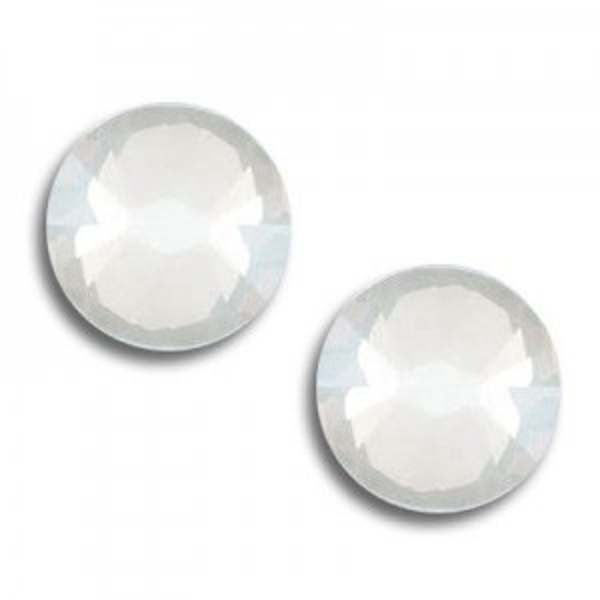 7ss Xilion Flatback White Opal Foiled Art. 2058 Swarovski® Austrian Crystal Stones