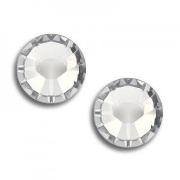 10ss Xilion Hotfix Crystal Silver Shade Art. 2028hf Swarovski® Austrian Crystal Stone