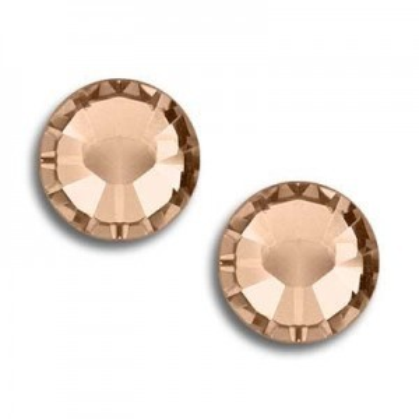 8ss Xilion Hotfix Light Peach Art. 2028hf Swarovski® Austrian Crystal Stones