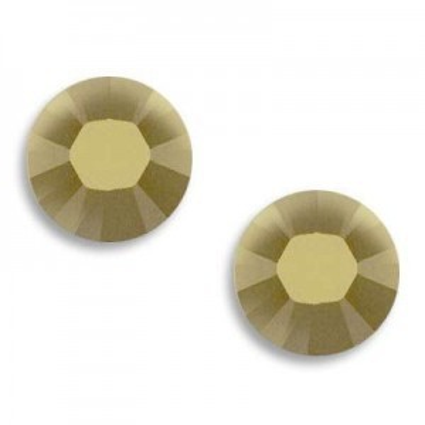 6ss Xilion Hotfix Crystal Metallic Light Gold Art. 2028hf Swarovski® Austrian Crystal