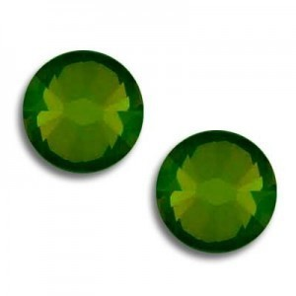 6ss Xilion Hotfix Palace Green Opal Art. 2028hf Swarovski® Austrian Crystal Stones