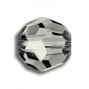 8mm Round Black Diamond Art. 5000 Swarovski® Austrian Crystal Beads