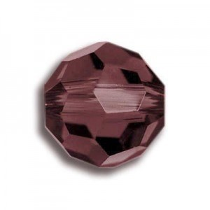 4mm Round Burgundy Art. 5000 Swarovski® Austrian Crystal Beads
