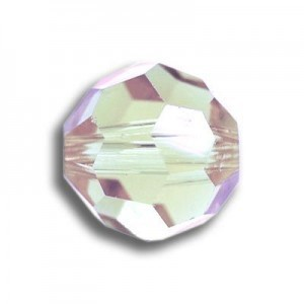 8mm Round Crystal AB Art. 5000 Swarovski® Austrian Crystal Beads
