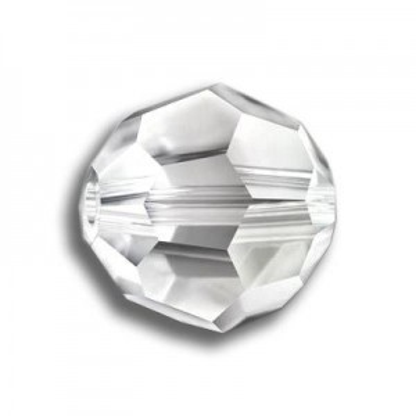 8mm Round Crystal Silver Shade Art. 5000 Swarovski® Austrian Crystal Beads