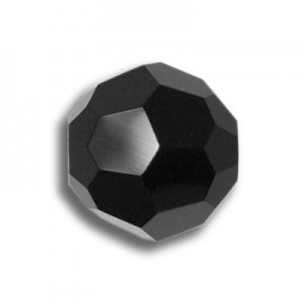 8mm Round Jet Art. 5000 Swarovski® Austrian Crystal Beads