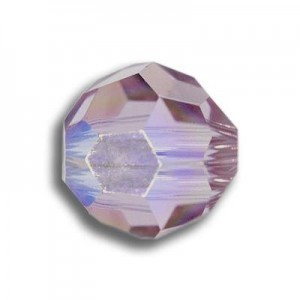 6mm Round Light Amethyst Art. 5000 Swarovski® Austrian Crystal Beads