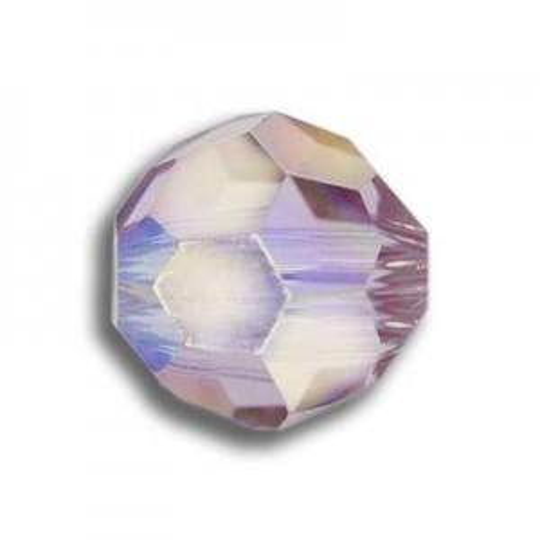 4mm Round Light Amethyst AB Art. 5000 Swarovski® Austrian Crystal Beads
