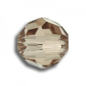6mm Round Light Colorado Topaz Art. 5000 Swarovski® Austrian Crystal Beads