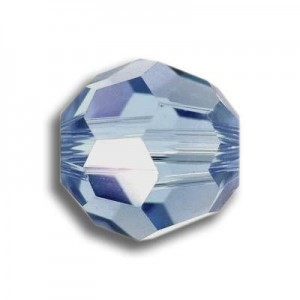 8mm Round Light Sapphire Art. 5000 Swarovski® Austrian Crystal Beads