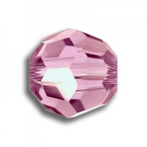 8mm Round Rose Art. 5000 Swarovski® Austrian Crystal Beads