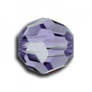 6mm Round Tanzanite Art. 5000 Swarovski® Austrian Crystal Beads