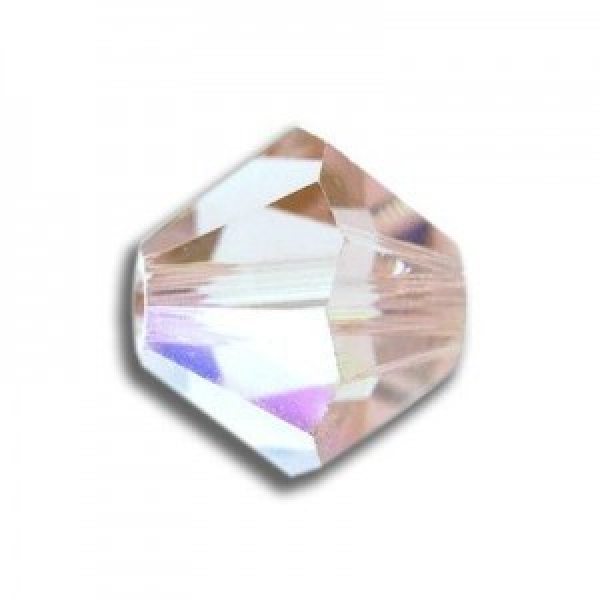 6mm Bicone Crystal AB Art. 5328 Swarovski® Austrian Crystal Beads