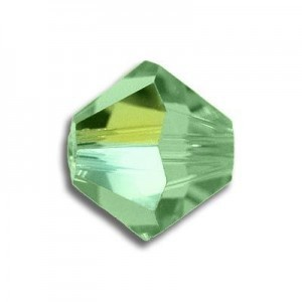 4mm Bicone Peridot AB Art. 5328 Swarovski® Austrian Crystal Beads