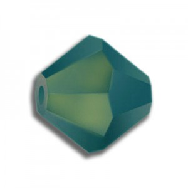 3mm Bicone Turquoise AB Art. 5328 Swarovski® Austrian Crystal Beads