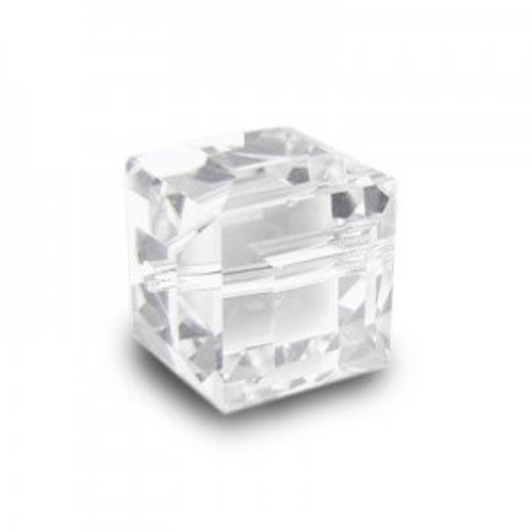8mm Cube Crystal Art. 5601 Swarovski® Austrian Crystal Beads