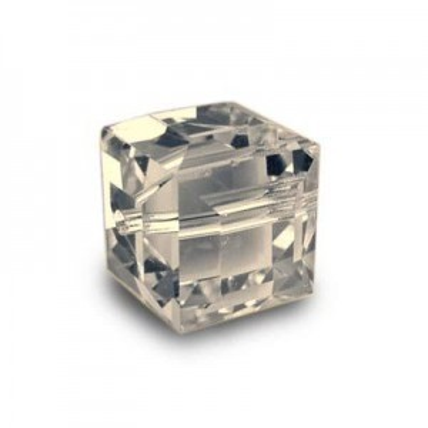 6mm Cube Crystal Golden Shadow Art. 5601 Swarovski® Austrian Crystal Beads