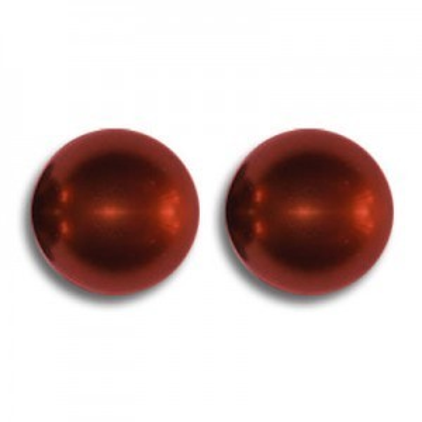 4mm Round Bordeaux Pearl - 100 Beads Per Strand Art. 5810 Swarovski® Austrian Crystal Pearls