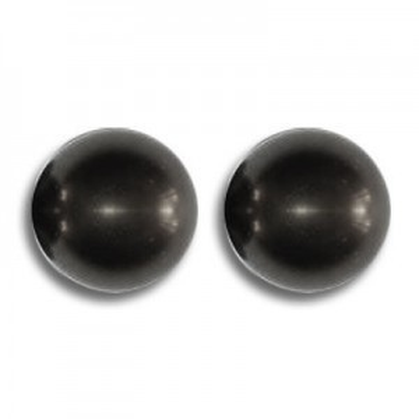 4mm Round Black Pearl - 100 Beads Per Strand Art. 5810 Swarovski® Austrian Crystal Pearls