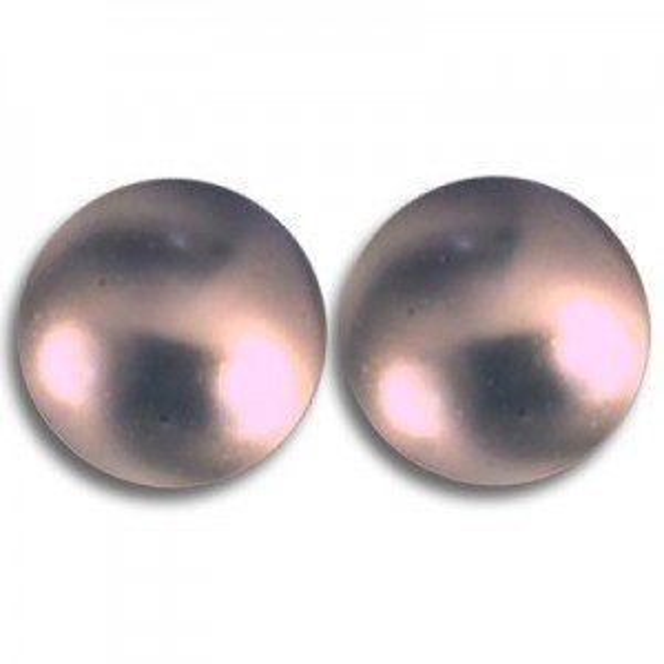 4mm Round Mauve Pearl - 100 Beads Per Strand Art. 5810 Swarovski® Austrian Crystal Pearls