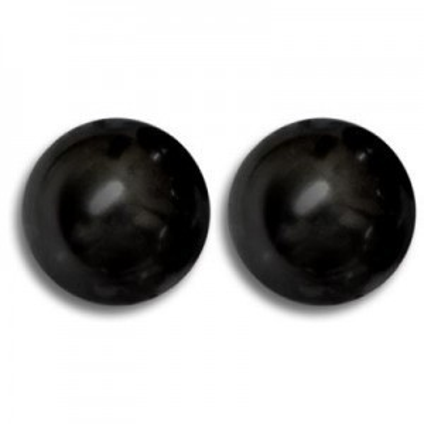 10mm Round Mystic Black Pearl - 50 Beads Per Strand Art. 5810 Swarovski® Austrian Crystal Pearls