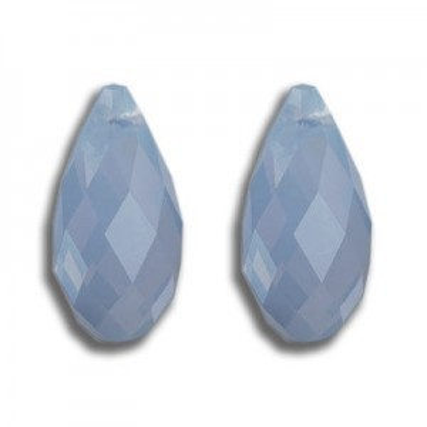 11x5.5mm Briolette Air Blue Opal Art. 6010 Swarovski® Austrian Crystal Pendants