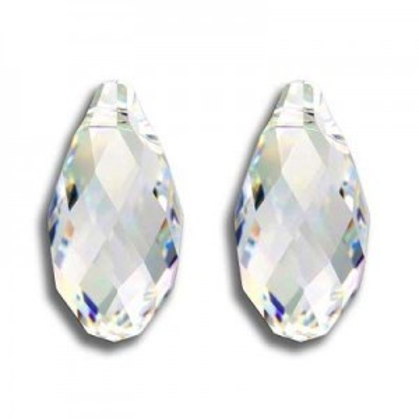 17x8.5mm Briolette Crystal AB Art. 6010 Swarovski® Austrian Crystal Pendants