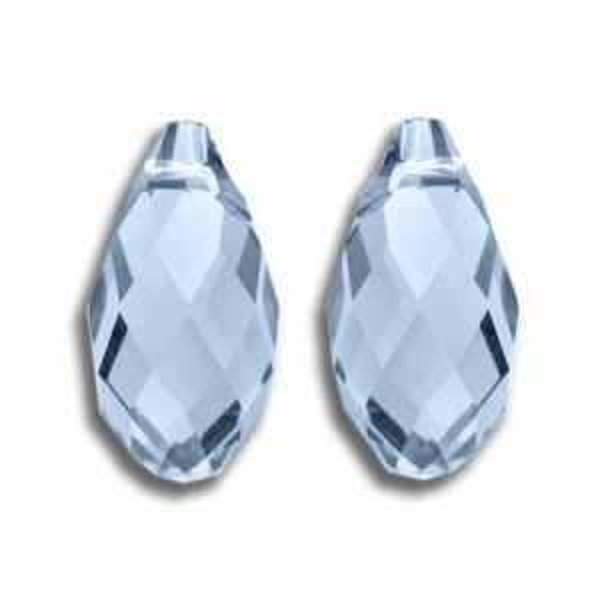 13x6.5mm Briolette Light Sapphire Art. 6010 Swarovski® Austrian Crystal Pendants
