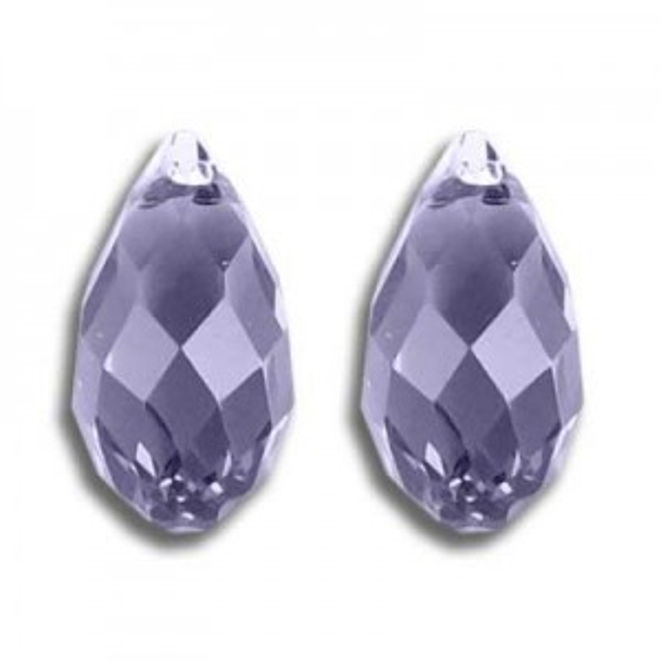 11x5.5mm Briolette Tanzanite Art. 6010 Swarovski® Austrian Crystal Pendants