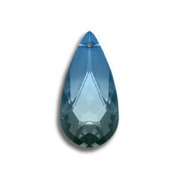 24x12mm Teardrop Pendant Oceanblue Art. 6100 Swarovski® Austrian Crystal Pendants