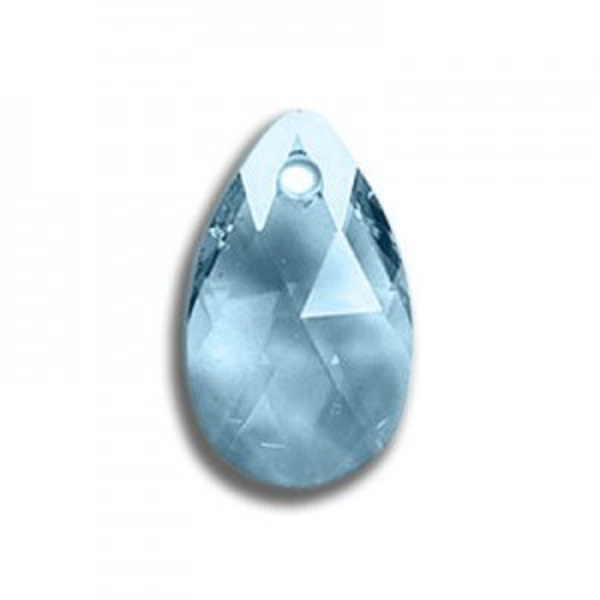 22mm Pear Pendant Aquamarine Art. 6106 Swarovski® Austrian Crystal Pendants
