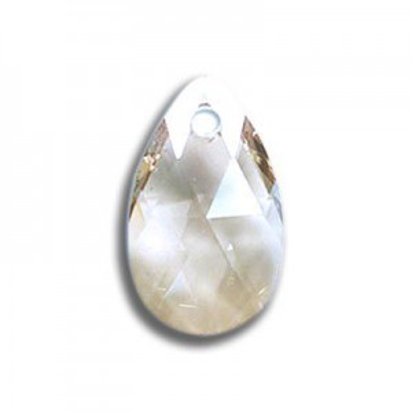 22mm Pear Pendant Crystal AB Art. 6106 Swarovski® Austrian Crystal Pendants
