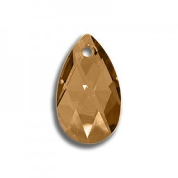 50mm Pear Pendant Crystal Copper Art. 6106 Swarovski® Austrian Crystal Pendants