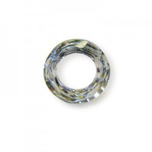 20mm Crystal Cal Austrian MC Cosmic Ring 2 Pcs