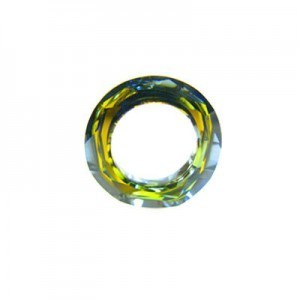 14mm Crystal Tabac Austrian MC Cosmic Ring 6 Pcs