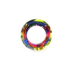 20mm Crystal Volcano Austrian MC Cosmic Ring 2 Pcs