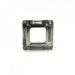 20mm Crystal Dorado Austrian MC Open Square Component 2 Pcs