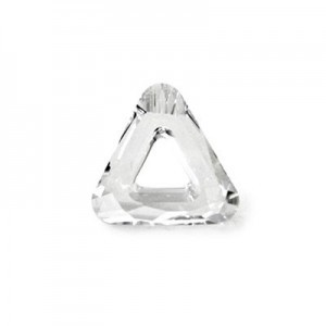 20mm Crystal Austrian MC Open Triangle Component 2 Pcs