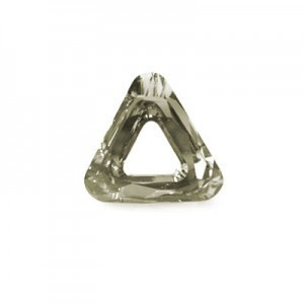 20mm Crystal Dorado Austrian MC Open Triangle Component 2 Pcs