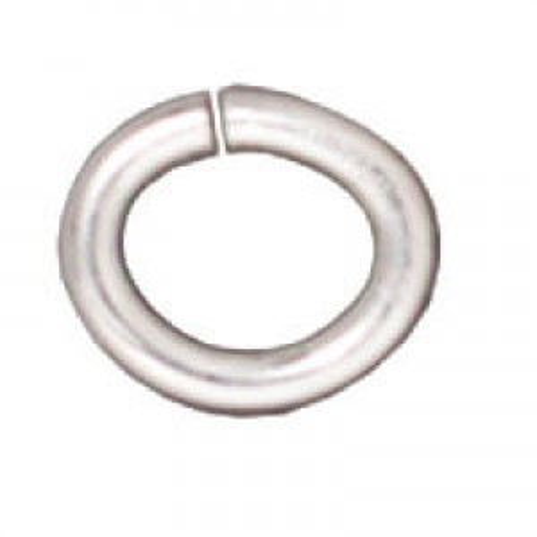 Jump Ring Med. Oval Sp - Pkg of 500 TierraCast® Findings