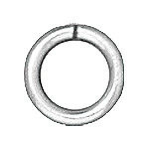 Jump Ring 4mm Round Brass 20 G Sp - Pkg of 500 TierraCast® Findings