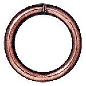 Jump Ring 6mm Round 19 G Copper - Pkg of 100 TierraCast® Findings