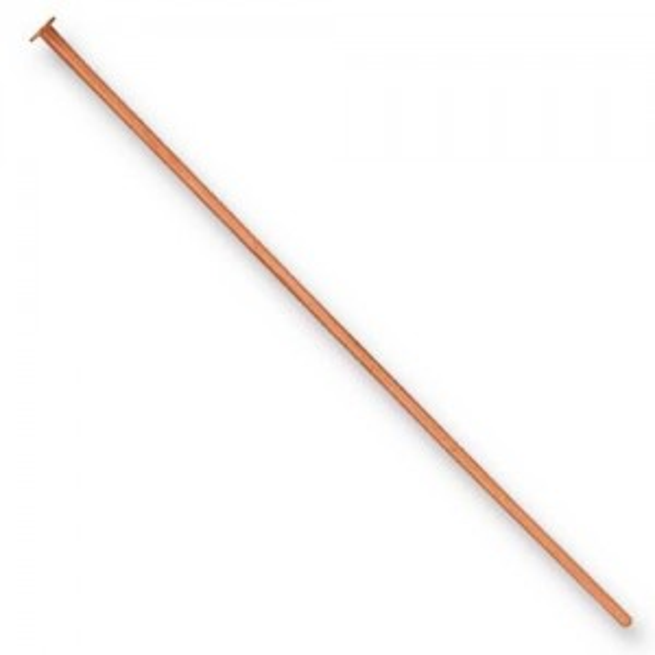 Head Pin 21 gauge 2 inch length Copper - Pkg of 500 TierraCast®
