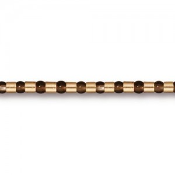 Crimp Bead 2x2mm Gold Plate - Pkg of 500 TierraCast®