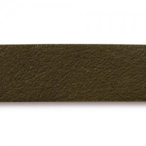 Olive Leather Strap 0.5x10 Inch