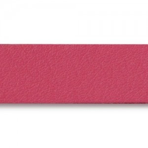 Fuchsia Leather Strap 0.5x10 Inch