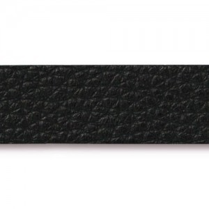 Black Leather Strap 0.5x10 Inch